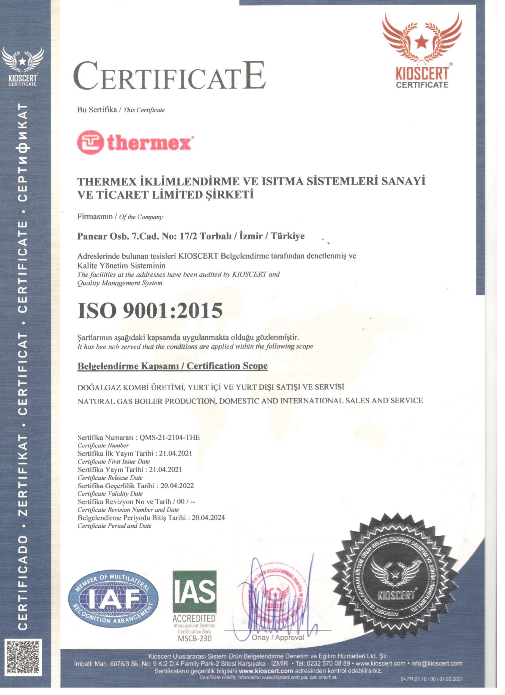 ISO-9001-Belgesi